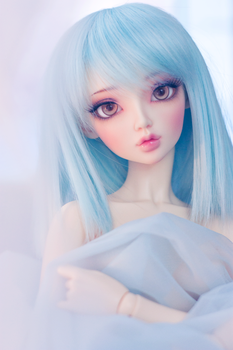 Soft blue by cyristine