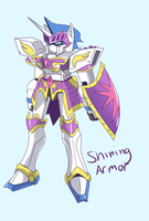 Mecha Shining Armor by Incinerater