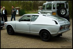 1973 Datsun 120A Cherry   Coupe by compaan-art