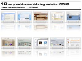 Skinning Website Icons by bezem049