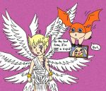 Are you my cupid Lucemon? by wackko200