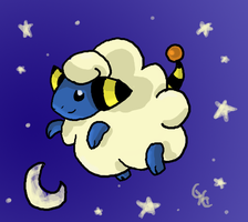 Starry Night Mareep by PracticallyGeeky