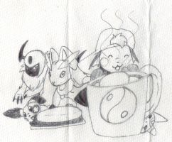 Chillin with choco and Marshmellows by G1-Ratbat