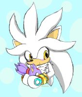 Cute Silver with a Blaze plush by Mayasacha