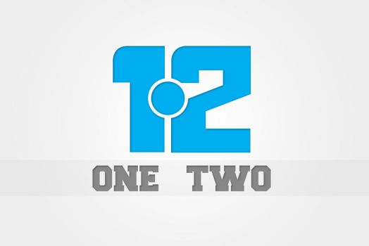 One Two Logo#2 by Zee-Who
