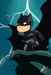 Tiny Batman by Rei-Kyou