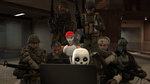 Skeletons, Soldiers and a Laptop by Kaymanovite