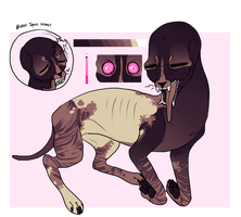 Space Cat Adopt // Paypal SOLD by alaskass