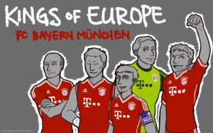 fc bayern: kings of europe by simply-irenic