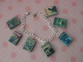 Cute Clay Harry Potter Book Bracelet by CraftyOlivia