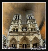 notre dame by bracketting94