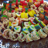 Rice krispy sushi by Lainana