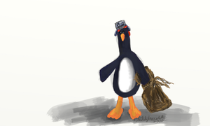 Feathers Mcgraw by teddybearcholla