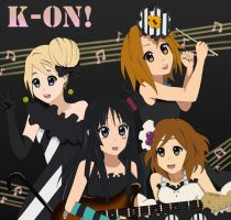 K-ON : LAZY by Chloeeh