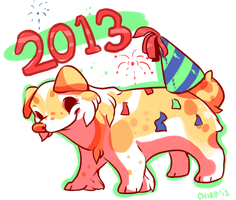 Happy 2013 ! by chirpeax