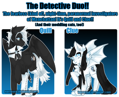 My Little Adoptables: Detective Duo! [CLOSED] by Narrowed