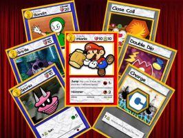Paper Mario TCG: Partner and Badge Preview by jsparrow