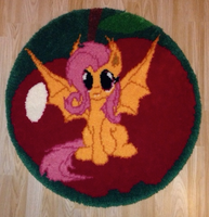 Flutterbat Rug Commission by HyperionMaster