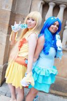 Coco and Hanon - Mermaid Melody by miyu-nanami