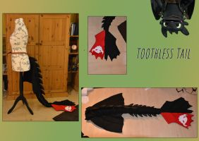Toothless tail - Cosplay by FoxColorsWorld