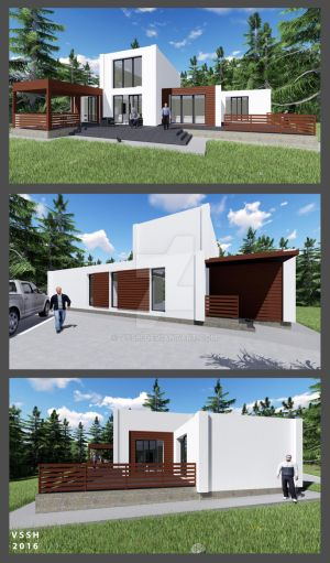 commissioned project-7 HOUSE V1 by vssh