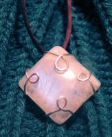 Rainbow Moonstone Pendant by Izile