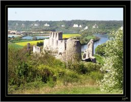 Chateau-Gaillard - 1 by J-Y-M