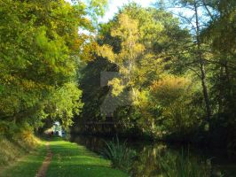 Walking the towpath by buttercupminiatures