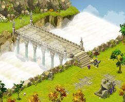 Dofus - Bridge to the Arena by Weequays