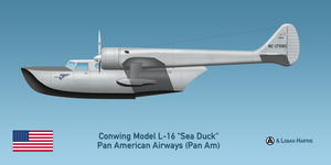 Pan Am Conwing L-16 Sea Duck by comradeloganov