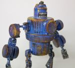 assemblage boxing robot by rupertvalero