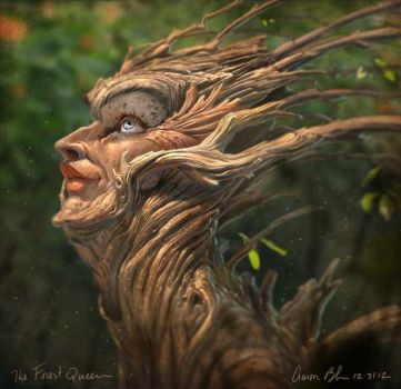 The Forest Queen by ablaise