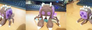 Zerg Overlord Cube Plushie pt 2 by JeffSproul