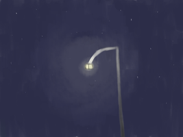 Speedpaint: Street Lamp by posipony