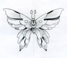 Butterfly Design by JoshDixArt