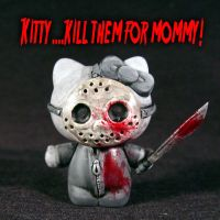 Hello Kitty Friday 13th Jason by Undead-Art