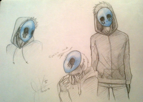 First Eyeless Concepts  by invaderwolfgirl