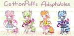 CottonPuff Adoptables .: O P E N :. by 12isMyLuckyNumber