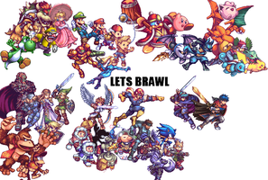 LETS BRAWL by Tyler-Blader8