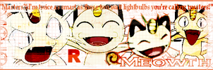 Meowth Tag by TeamRocketGurl