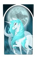 Lady Unicorn by darksteelLycaon