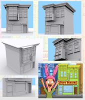 Bobs Burgers WIP by RSDoidle