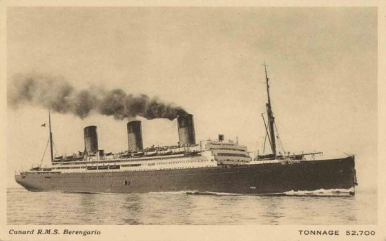Cunard RMS Berengaria by Yesterdays-Paper