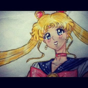 Sailor Moon by 4thChairSwag