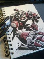 Warmup - New Sketchbook by EryckWebbGraphics