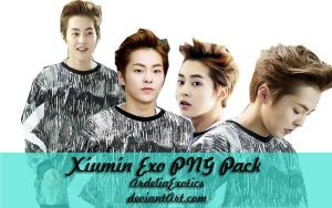 Xiumin EXO PNG [PACK] by ArdeliaExotics
