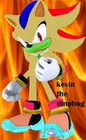 kevin the dinohog_sonic oc by arrancer13