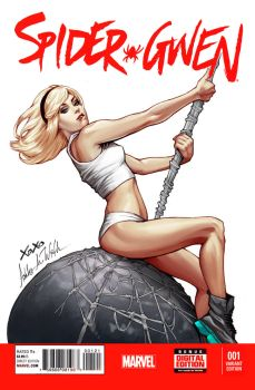 SpiderGwen - Wreckingball by WittA