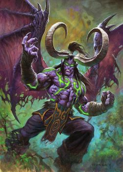 Illidan Stormrage by AlexHorley
