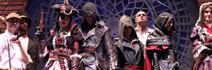 Faces of the Syndicate / Assassin's Creed Cosplay by KrishnaDammertArt